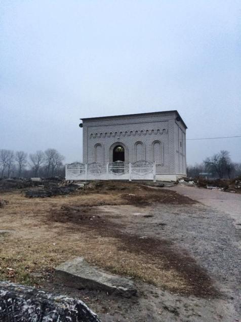 Tziun de Rabi Itjak de Berdichev. Foto: Alexandra Zimmermann.